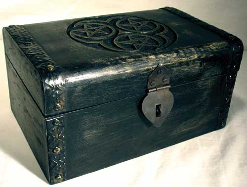 Hecate Triple Pentagram Chest - Click Image to Close