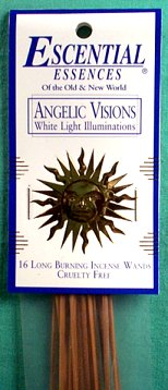 Angelic Visions escential essences incense sticks 16 pack