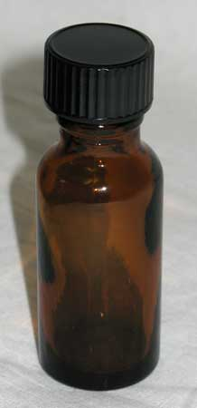 .5 oz Amber Glass Bottle
