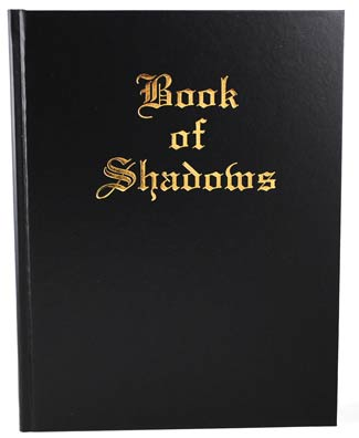 Blank Leather Book of Shadows